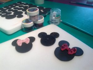 Mickey and Minnie Mouse | Cake Decorating Demonstration ...